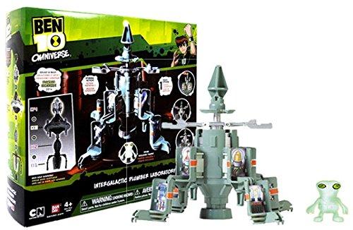 Ben 10 Intergalactic Plumber Laboratory - 1