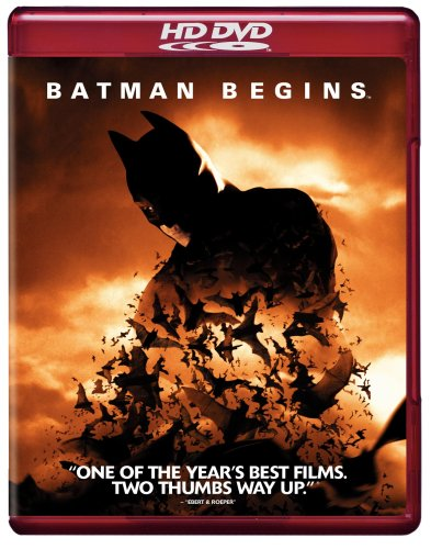 Cover art for  Batman Begins [HD DVD]