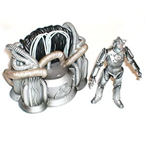 "DR WHO 6"" Cyberman Leader figure & Cyber Throne [not Boxed]"