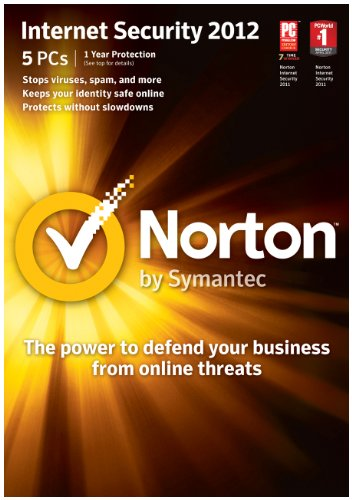 Symantec  Norton Internet Security 2012 - 5 Users