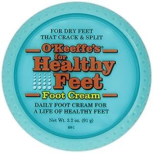 O'Keeffe Healthy Feet Cream 3.2oz Jar