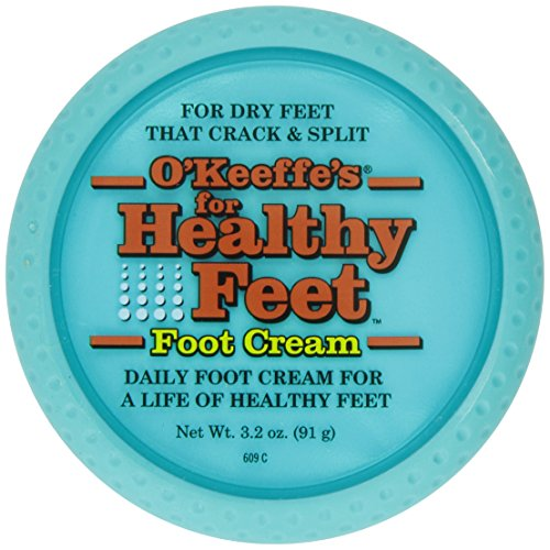 O'Keeffe Healthy Feet Cream 3.2oz Jar