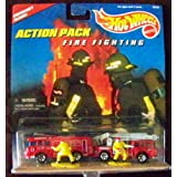Hot Wheels Fire Fighting Action Pack -- 1996