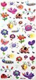 SPESTYLE waterproof non-toxic temporary tattoo stickersChildren's cartoon waterproof non-toxic temp tattoos insects