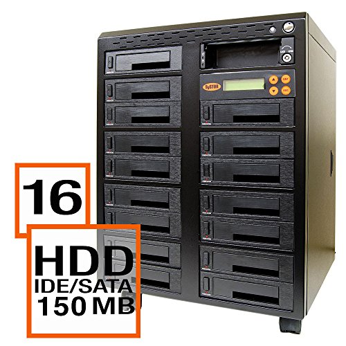 Systor 1:16 Sata/Ide Combo Hard Disk Drive / Solid State Drive (Hdd/Ssd) Clone Duplicator/Sanitizer - High Speed (150Mb/Sec) (Sys5016Hs) front-68259
