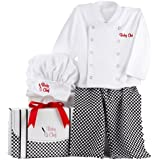 Baby Aspen Baby Culinary Chef Layette Set Gift Box, Multi, 0-6M
