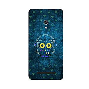 Skintice Designer Back Cover with direct 3D sublimation printing for Zenfone 5