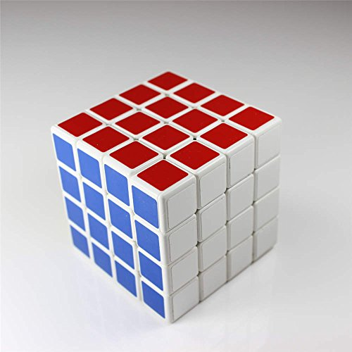 GoodPlay New Shengshou 4x4x4 Puzzle White Cube(+One cube tripod)