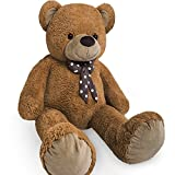 Nounours peluche ours g�ant XXL Teddy Bear 100cm brun