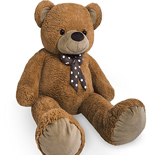 large-teddy-bear-xxl-kids-giant-teddy-bears-child-big-soft-plush-toys-dolls-teddies-bear-100cm-brown