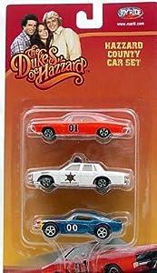 Dukes of Hazzard 3 Pack diecast Model Cars 1/64 Matchbox Set by Joyride