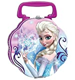 Disney Frozen Anna & Elsa Double Sided Tin Lunch Box