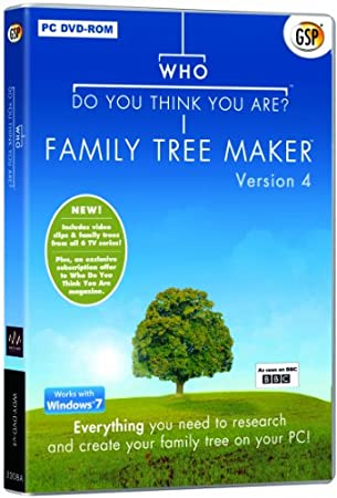 Who Do You Think You Are? Family Tree Maker Version 4 (PC) New Version