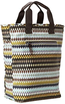 Echo Design Women's African Dots Tote Bag, Black, One Size