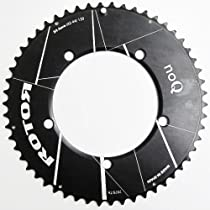 Rotor Round Road Aero Chainring One Color, 54T, 130mm