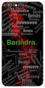 Barindra (Ocean) Name & Sign Printed All over customize & Personalized!! Protective back cover for your Smart Phone : Samsung Galaxy S4mini / i9190