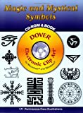 img - for Magic and Mystical Symbols CD-ROM and Book (Dover Electronic Clip Art) book / textbook / text book