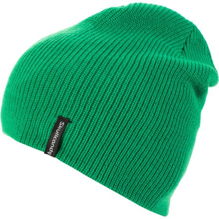 Skullcandy Skulldaylonger Solid Beanie Green, One Size