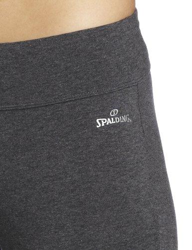 Spalding Women's Capri Legging, Charcoal, X-Large