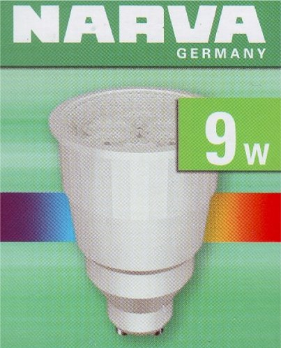 NARVA Energiesparlampe Reflektor KLE-R 9W/ 827 / 230V / GU10