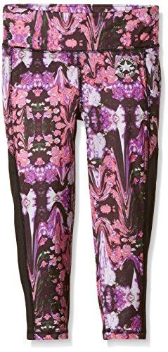 Converse Printed Capri-leggings Bambina    Multicoloured (Floral Drip Print) 14-15 Anni
