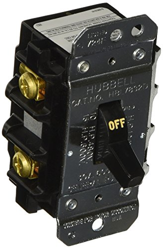 Hubbell hbl7832d 30 amp 600v 2 phase disconnect switch for 3 phase motor disconnect switch