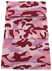 Casual Canine Camo Barn Pet Coat, XX-Small, Pink