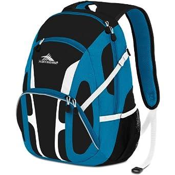 Amazon.com: High Sierra Composite Backpack, Black Treads/Kelly/White