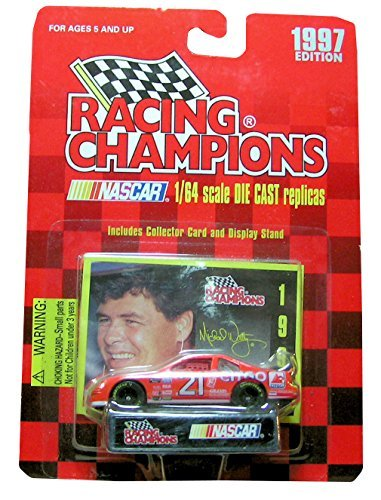 1997 Racing Champions # 21 Michael Waltrip 1/64 scale - 1