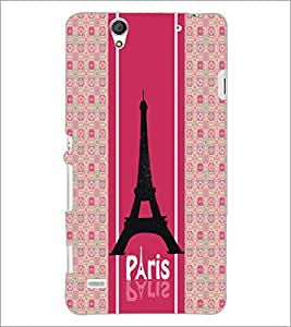 PrintDhaba Tower D-6051 Back Case Cover for SONY XPERIA C4 (Multi-Coloured)