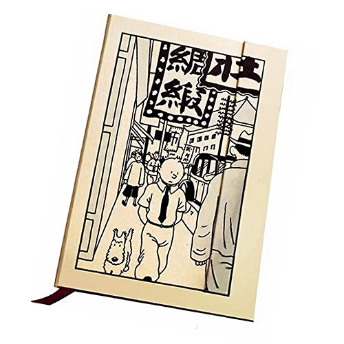 Moulinsart Tintin in Shanghai Notebook