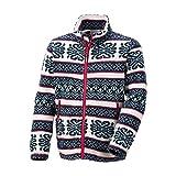 (コロンビア)Columbia ユースバックアイスプリングスジャケット PY3001-F14 022 Stone Knitting Pattern XS