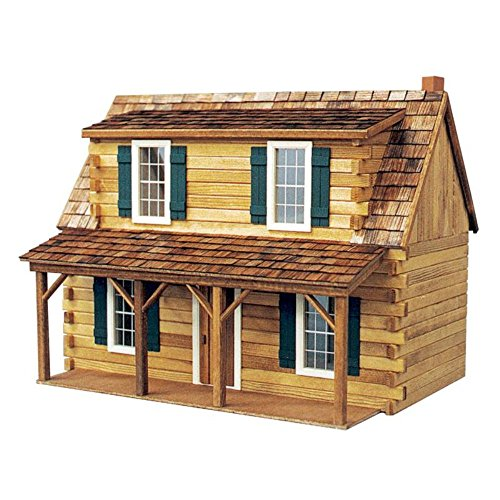 Real Good Toys Adirondack Cabin Dollhouse Kit - 1 Inch Scale (Real Good Toys Furniture compare prices)