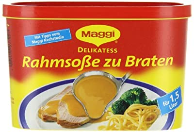Maggi Delikatess Rahmsosse zu Braten, 6er Pack (6 x 1,5 l Dose) von Maggi - Gewürze Shop