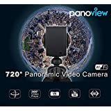 Panoview Panoramic Camera 1080p 30fps WiFi Action Camera 720 Degree Spherical Lens VR Camera With CMOS 8.0MP Sensor...
