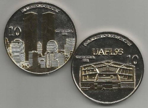 10th Anniversary September 11 Remembrance Challenge Coin
