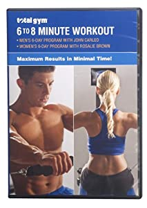 Total Gym 6-8 Minute Workout DVD by Total Gym