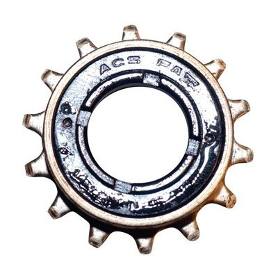 ACS Fat Single Freewheel 16T x 1/8″ Single Black