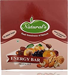 Natural's Dry Fruit Bars Fruit and Nut (Pack of 12)