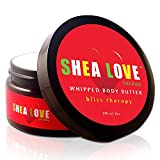 SHEA LOVE Naturals -The Best Organic Body Butter 8 Oz - Organic Shea Butter, Organic Coconut Oil, Organic Aloe Vera Gel, Organic Jojoba Oil, Anti-Aging Essential Oils - Give Your Skin Some Love!