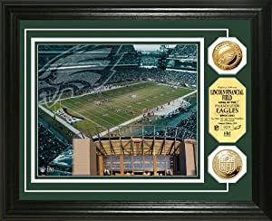 NFL Philadelphia Eagles Stadium Gold Coin Photo Mint by Highland Mint