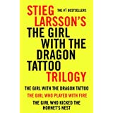 Girl with the Dragon Tattoo Trilogy Bundle: The Girl with the Dragon Tattoo, The Girl Who Played with Fire, The Girl Who Kicked the Hornet's Nest (Vintage Crime/Black Lizard) ~ Stieg Larsson