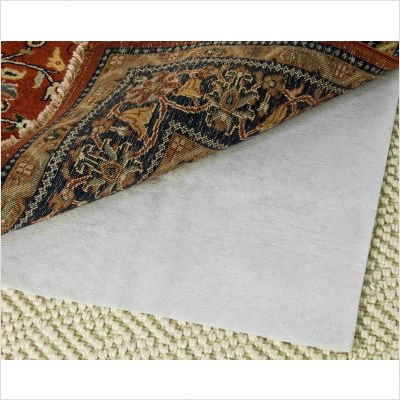 Safavieh PAD125 Carpet-to-Carpet Non-Slip Rug Pad, 6-Feet by 9-Feet