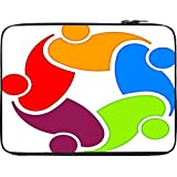 Snoogg In Hand 10 To 10.6 Inch Laptop Netbook Notebook Slipcase Sleeve