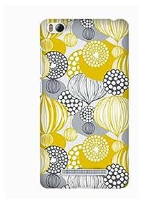 Pick Pattern Back Cover for Xiaomi Mi 4i (MATTE)
