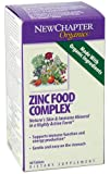 New Chapter Organics Zinc Food Complex Tablets, 60-Count