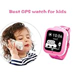 Misafes kinder Smart Uhr Sport Monitor GPS Tracker Digitaluhr Babyphone Baby Telefon Handy (SIM-Karte ist nicht enthalten) New Version
