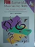 img - for Fundamental Musicianship Skills For Piano & Keyboard - Intermediate A&B (Fundamental Musicianship Skills, Intermediate A&B) book / textbook / text book