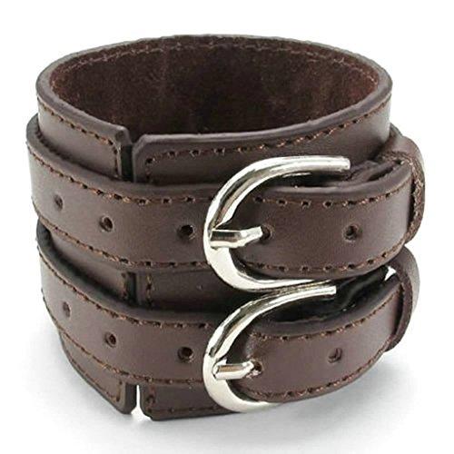 amdxd-jewelry-vergoldet-herren-vintage-style-armbander-braun-lange-203-cm-armband-panzerkette