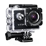 Action Kamera WIFI 2,0 Zoll, VTIN Full HD 1080P Sport Action Camera Cam...